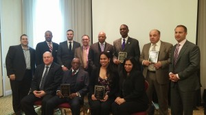 Trade Brooklyn Honorees and Speakers at Awards Ceremony Breakfast