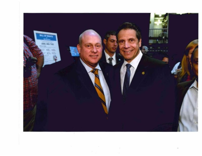 Mark Jaffe and Governor Cuomo
